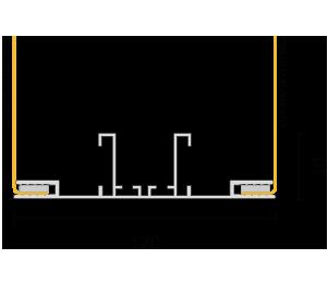 Profilo 120 - sezione