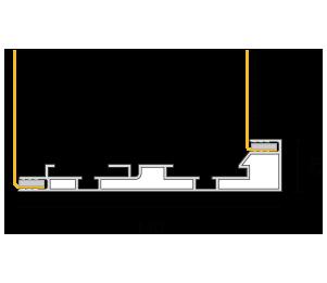 Profilo 140 - sezione