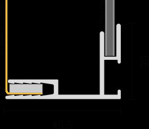 Profilo 45 section