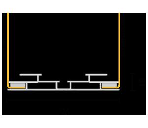 Profilo 96 section